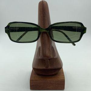 Coach Oval Rectangle Green Sunglasses Frames